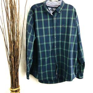 Vintage Tommy Hilfiger Dress Shirt men's XL